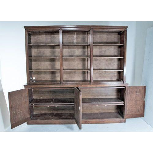 Traditional Late 19th Century English Bookcase For Sale - Image 3 of 11