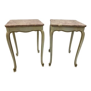 Hollywood Regency Side Tables - a Pair For Sale