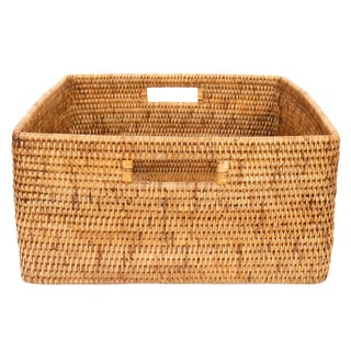 Boho Chic Artifacts Rattan Square Basket Preview