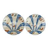 Image of 19th Century Japanese Imari Arita Plates - a Pair For Sale