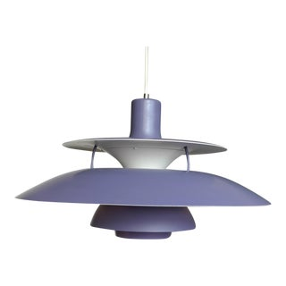 Poul Henningsen for Louis Poulsen Purple Model PH-5 Pendant Lamp