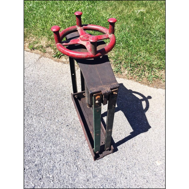 Vintage Industrial W.O. Hickok Keystone Cider Mill Apple Press For Sale - Image 11 of 11