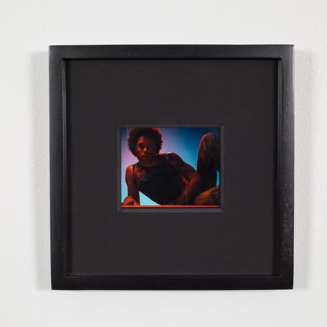 Polaroid Test Image of Lenny Kravitz by Denise Tarantino for Dah Len Studios For Sale - Image 4 of 4