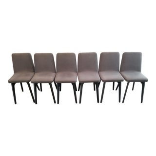 Ligne Roset Vik Dining Chairs - Set of 6 For Sale