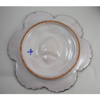 19th Century French Faience Breton Oyster Plate Preview
