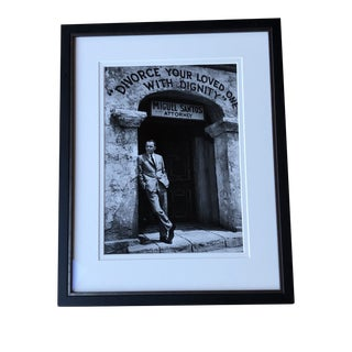 Bob Willoughby Silver Gelatin Print of Frank Sinatra For Sale