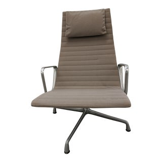 Mid Century Modern Eames Aluminum Group Lounger by Herman MIller For Sale
