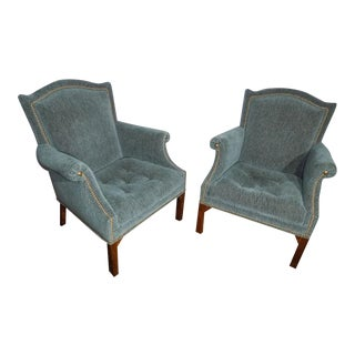 John Widdicomb Arm Chairs - A Pair For Sale