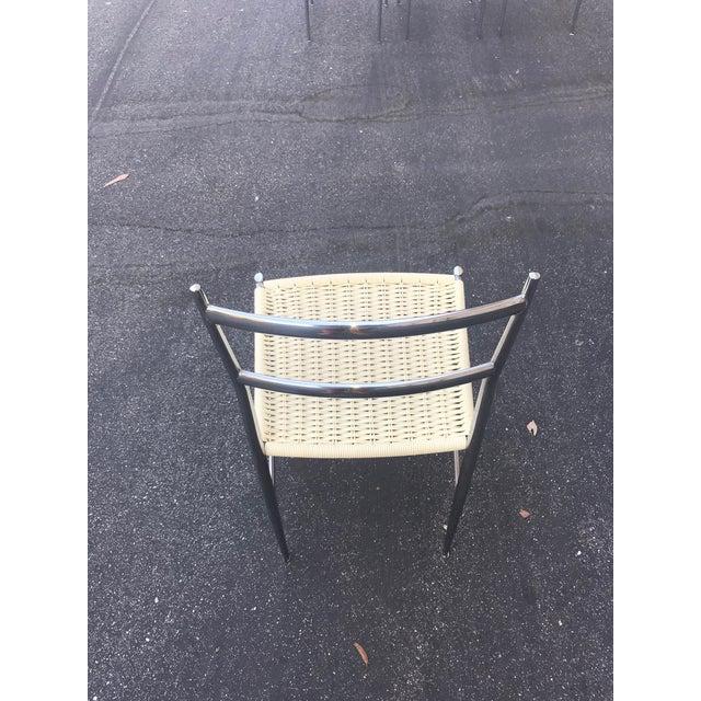 1960s 1960s Vintage Gio Ponti Chrome Superleggera Chairs - Set of 4 For Sale - Image 5 of 13