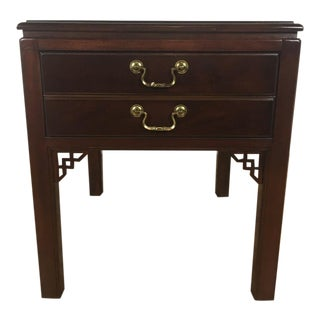 Drexel Chinoiserie Style End Table
