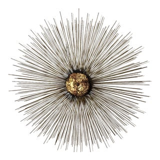 Curtis Jere Sunburst Wall Sculpture For Sale
