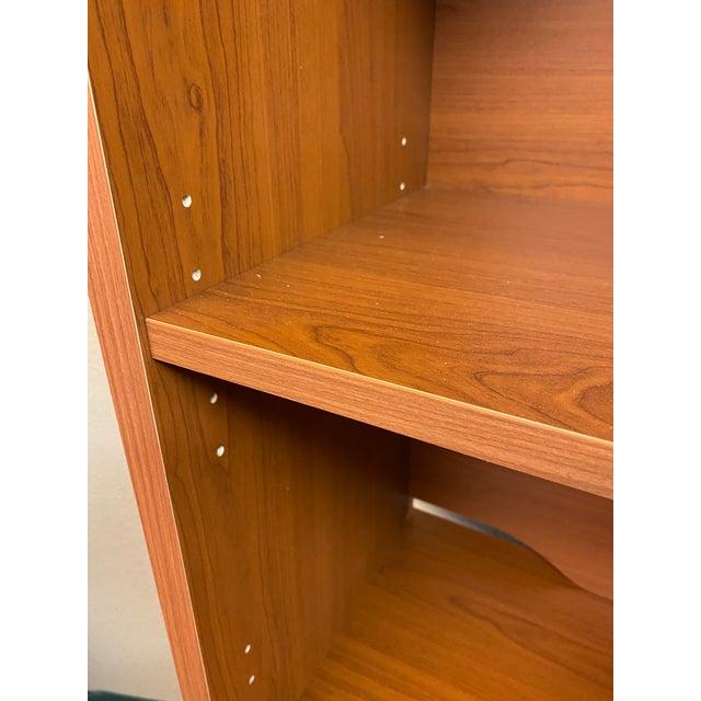 L. P. Danish Office Adjustable Bookshelf + Double Filing Cabinet For Sale - Image 10 of 13