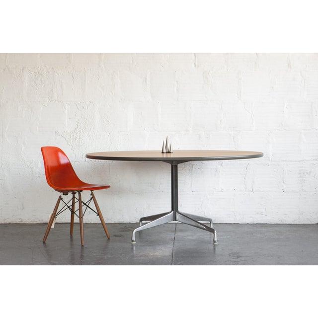Herman Miller Oak Dining Table - Image 5 of 5