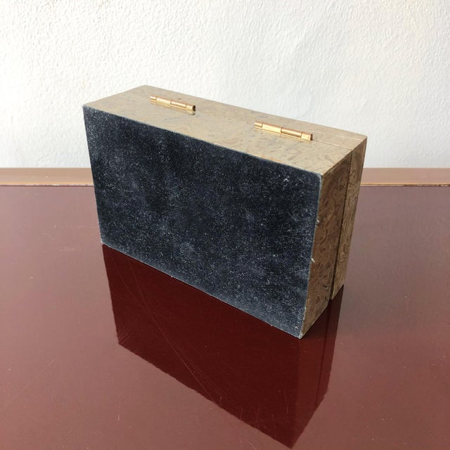 1980s Tessellated Marble Hinged Vintage Box For Sale In West Palm - Image 6 of 9