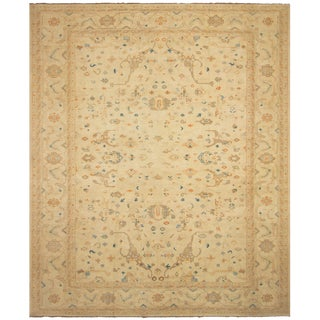 Kafkaz Sun-Faded Dennis Ivory/Ivory Hand-Knotted Rug - 11'11 X 17'6