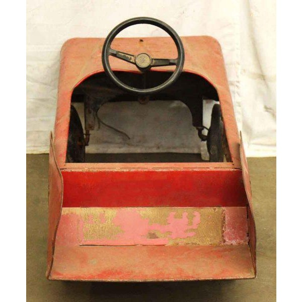 Vintage Child's Red Fire Engine For Sale - Image 6 of 9