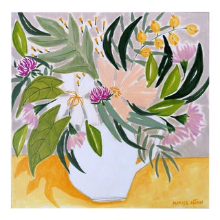 """""""Flowers From Chelva"""" Original Painting by Marisa Añon For Sale"""