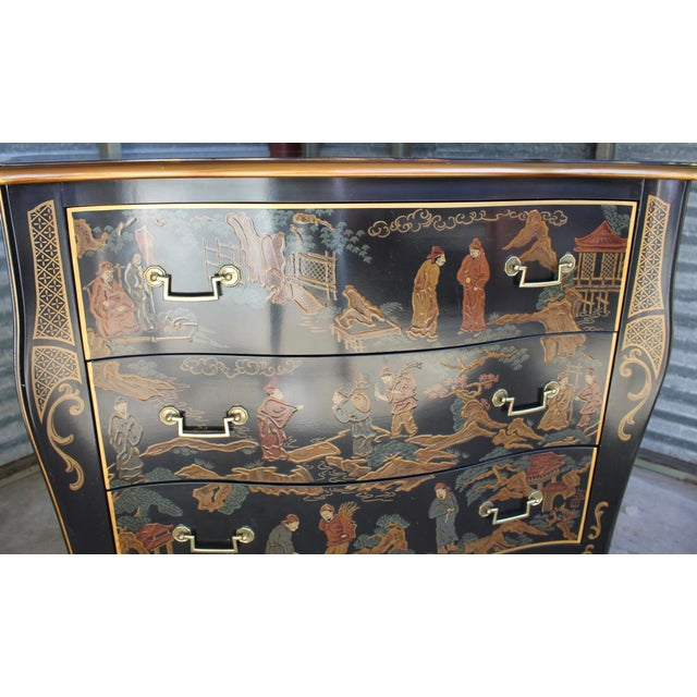Drexel Et Cetera Chinoiserie Chest of Drawers For Sale In Cincinnati - Image 6 of 11