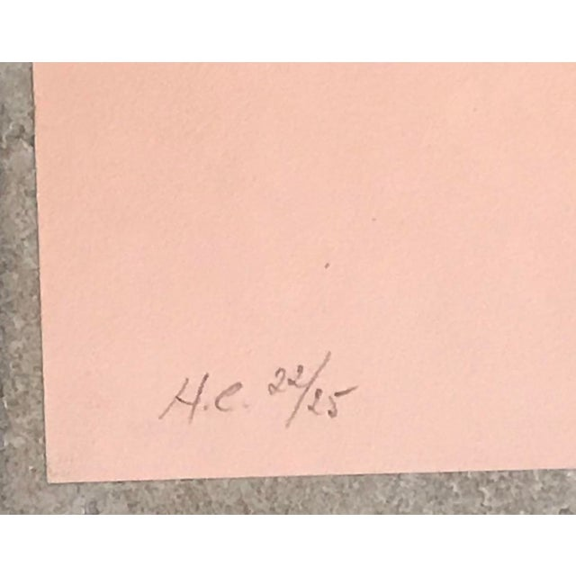 """1979 Enric Cormenzana """"Zaragoza"""" Lithograph Hand Signed & Numbered For Sale - Image 4 of 6"""