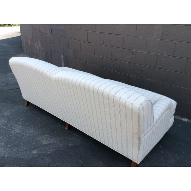 2020s White English Club Sofa For Sale - Image 5 of 9