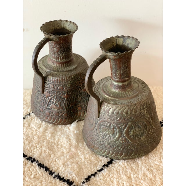 Antique Turkish Water Jugs - a Pair For Sale - Image 9 of 12