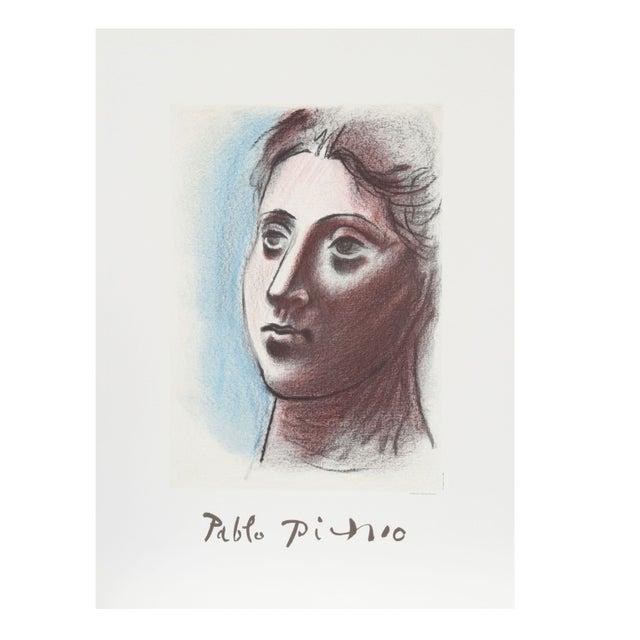 Pablo Picasso Portrait De Femme a Trois Lithograph | Chairish