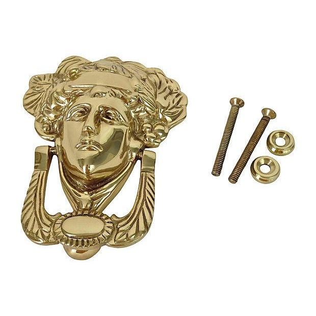Brass Medusa Door Knocker - Image 3 of 5