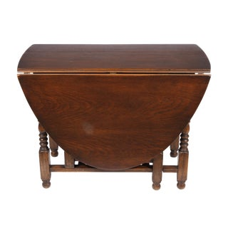 English William and Mary Gate Leg Drop-Leaf Table For Sale