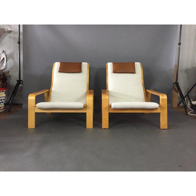 Mid-Century Modern Ilmari Lappalainen Pulkka Lounge Chair for Asko Finland, 1960s For Sale - Image 3 of 9