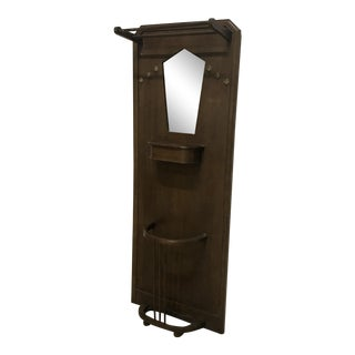 Art Deco Coat Rack/Mirror