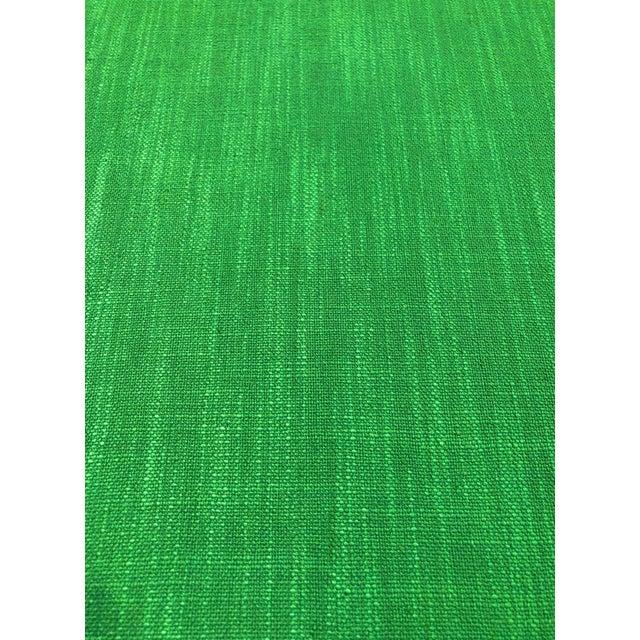 Kravet Kate Spade for Kravet Inc Millwood - Modern Picnic Green Designer Multipurpose Fabric - 7.25 Yards For Sale - Image 4 of 5