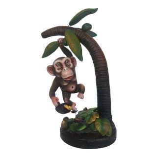 1990s Sergio Bustamante Monkey Sculpture / Figurine For Sale