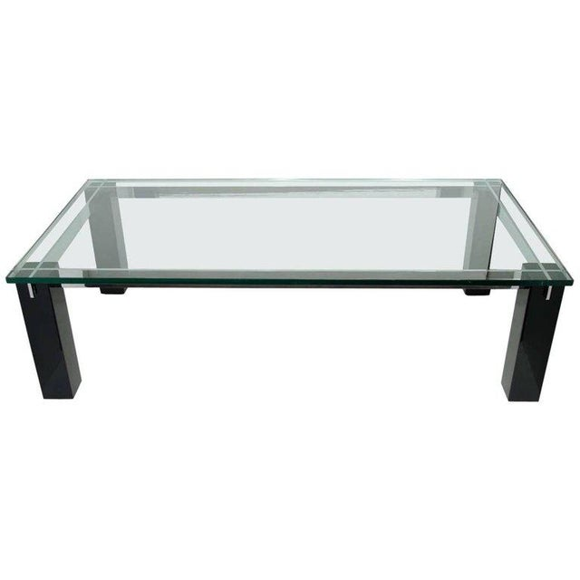 Crespi Italian Mid-Century Modern Architectural Coffee Table For Sale - Image 11 of 11