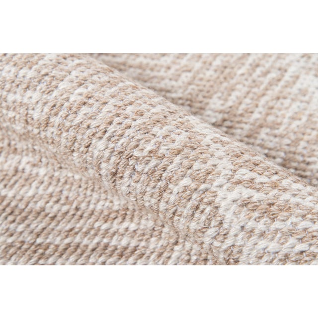 Erin Gates by Momeni Easton Congress Brown Indoor/Outdoor Hand Woven Area Rug - 7′6″ × 9′6″ For Sale - Image 4 of 8
