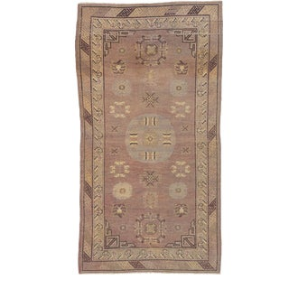 """Early 20th Century Chinese Khotan Rug - 5'8"""" X 9'1"""" For Sale"""