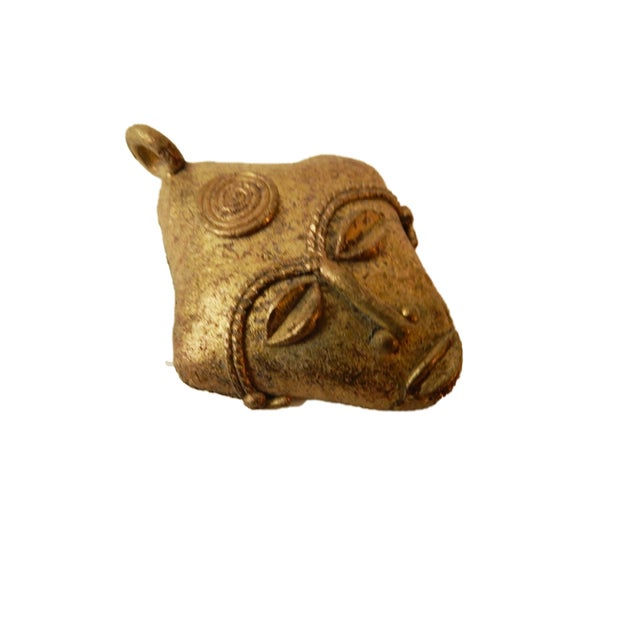 African Baule Gold Weight Passport Mask - Image 4 of 5