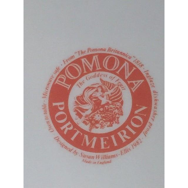 "Pomona Portmeirion ""The Goddess of Fruit"" Plates- Set of 2 - Image 5 of 5"