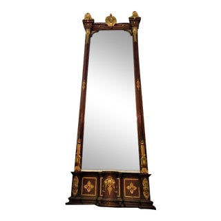 Antique 19th Century 10-Foot Wall Mirror, 1830s