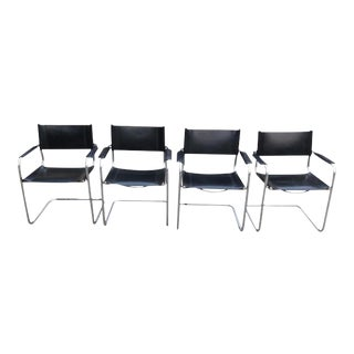 Mart Stam for Gordon International Cantilever Armchairs - Set of 4