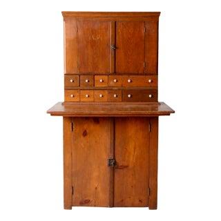 Antique Wooden Cabinet For Sale