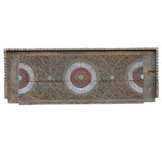 Intricately Carved Chakra Mandala Panel