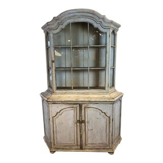 19th Century Dutch Glass Front Cabinet For Sale