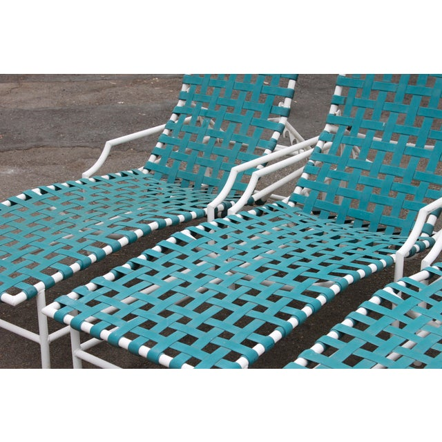 Mid-Century Tropitone 'Cantina' Reclining Patio Lounges - Set of 4 - Image 11 of 11
