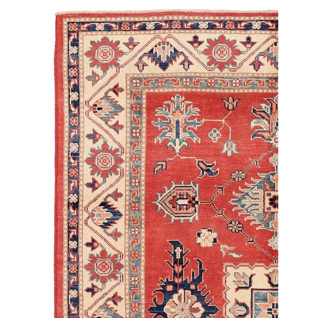 """Pasargad Kazak Wool Rug - 4' 11"""" X 6' 9"""" - Image 2 of 2"""