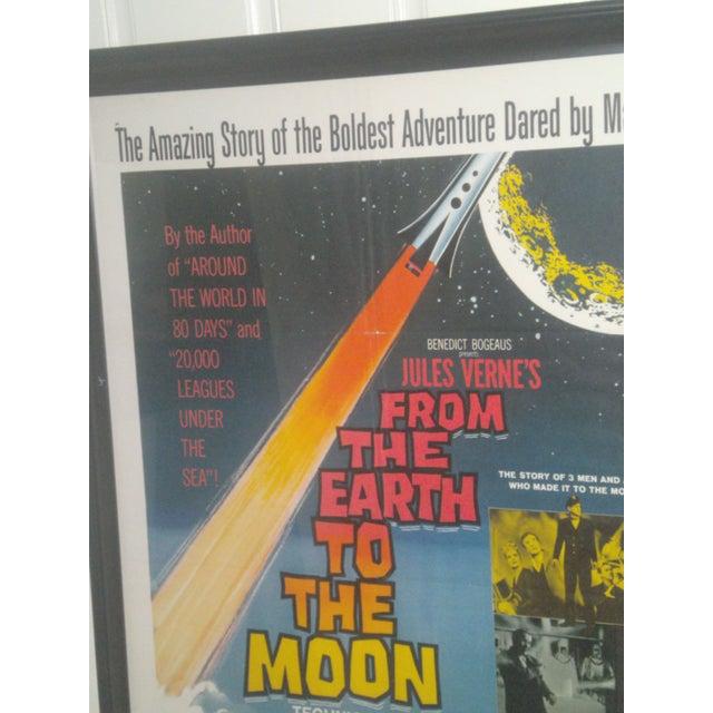 Americana Original 1958 Sci-Fi Framed Movie Poster For Sale - Image 3 of 9