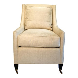 Upholstered Side Chair For Sale