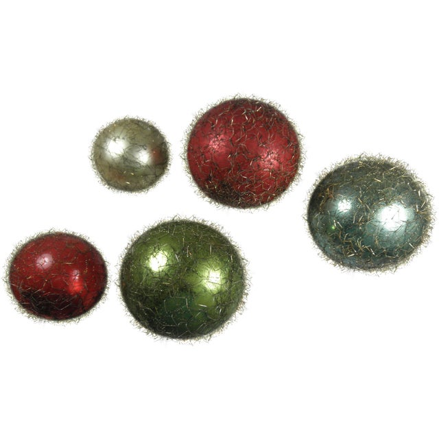 Wire-Wrapped Ornaments - Set of 5 - Image 1 of 4