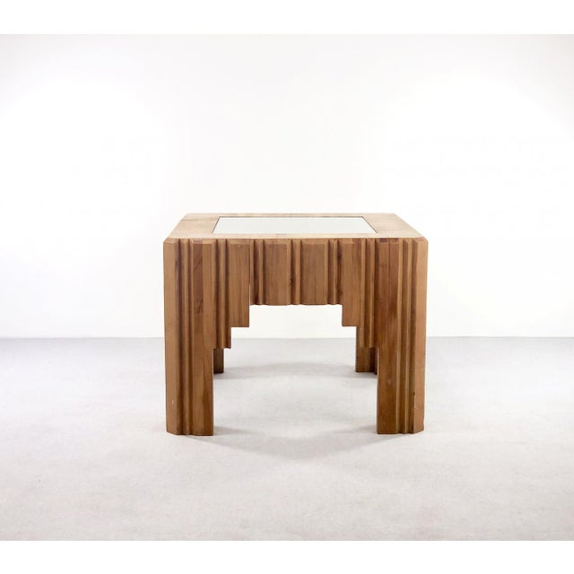 Paul Follot Paul Follot Coffee Table by Paul Follot From 1929 in Wood For Sale - Image 4 of 5