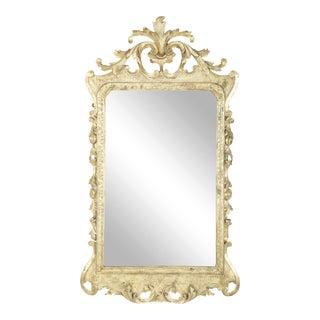 Georgian Rococo Gilt Wood Framed Mirror For Sale