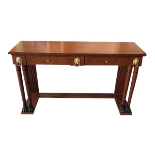 Palladin Console Table by Baker Furniture For Sale